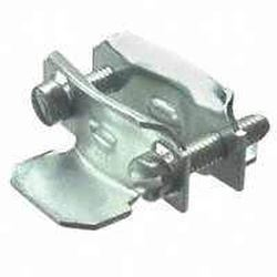 Halex 96510 2-Piece Butterfly Clamp Connector, 3/8 In, Steel