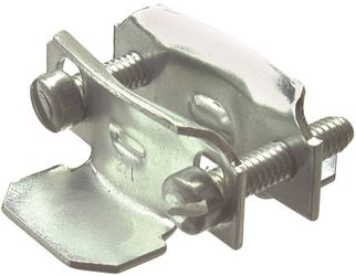 Halex 26512 2-Piece Butterfly Clamp Connector, 3/4 - 1 In, Steel