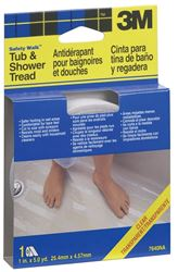 3M Safety-Walk Tub and Shower Tread Tape, 180 in L x 1 in W, Clear