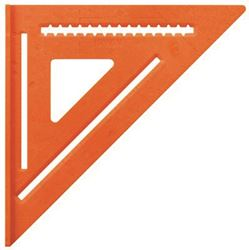 Irwin 1794467 High Visibility Rafter Square, 12 In L, Aluminum, Orange