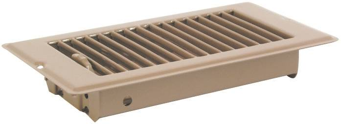 United States Hardware V-056Ib Dlx Floor Register 4X8