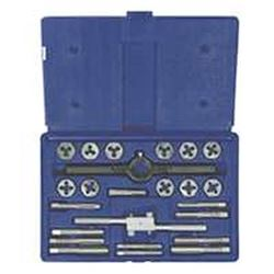 Hanson 24614 Fractional Tap and Hex Die Set, 24 Pieces
