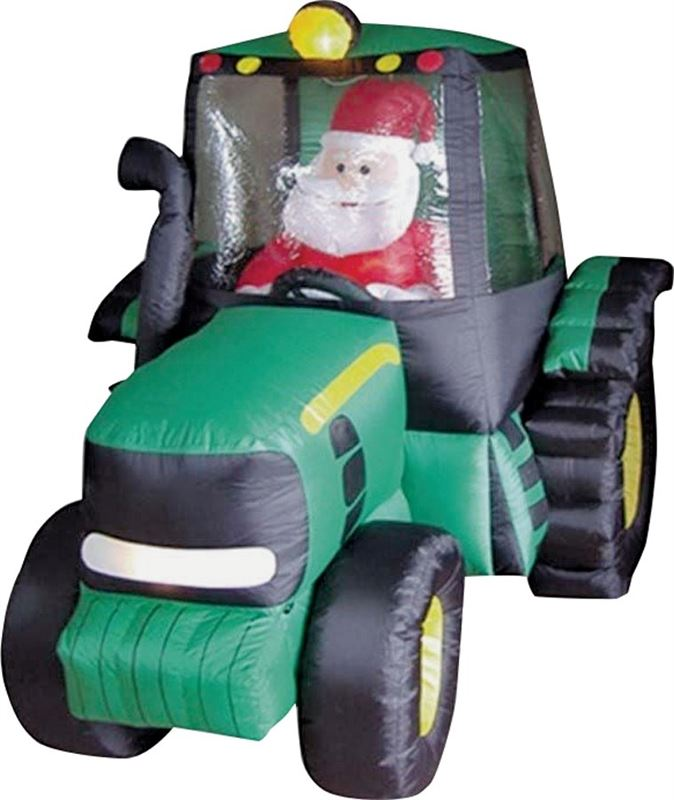 HOLIDAYBASIX 90131 INFLATABLE 6FT TRACTOR