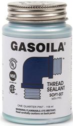 Gasoila SS04 General Purpose Thread Sealant With PTFE Paste, 4 oz, Blue Gray