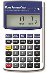 Calculated Industries 8510 Calculator Home Project