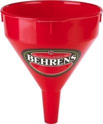 Behrens Manufacturing 112 Funnel Plastic Red 1Pt