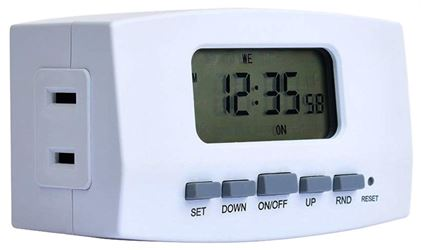 American Tack & Hardware Te1602Whb Timer Digital Bar