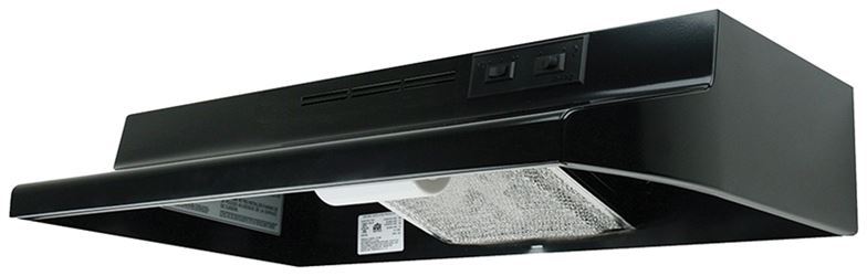 Air King Advantage AD AD1306 Under Cabinet Ductless Range Hood, 180 cfm, 23 ga Cold Rolled Steel
