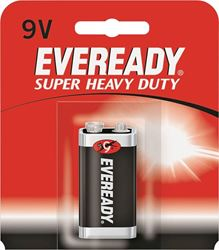 Energizer 1222SW Eveready Heavy Duty Batteries, 9 Volt, 400 MAH Rating