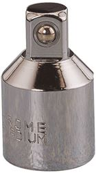 MintCraft MT6510093 SAE Socket Adapter, 3/8 in Male, 1/2 in Female, Forged Chrome-Vanadium Steel