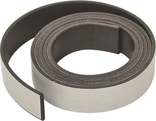 Master Magnetics 07013 Flexible Large Magnetic Tape, 25 ft L X 1/2 in W X 0.06 in T
