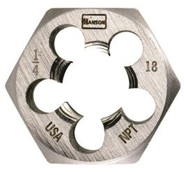 Irwin Industrial 7005  Hexagon Dies, Fractional, 1/2-14 Npt