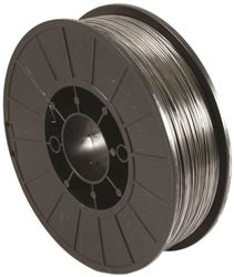 Forney Industries 42303 MIG Welding Wire, 0.035 in, 11 lb Container, Mild Steel, Flux Core, DCEN Straight