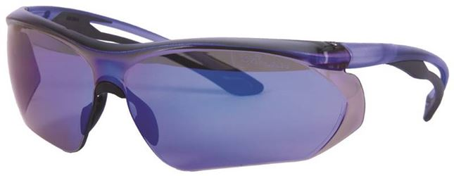 Forney Industries 55431 Glasses Safety Blue/Blue