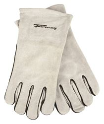Forney 53429 Industrial Welding Gloves, X-Large, Kevlar, Gray, Cotton Lining