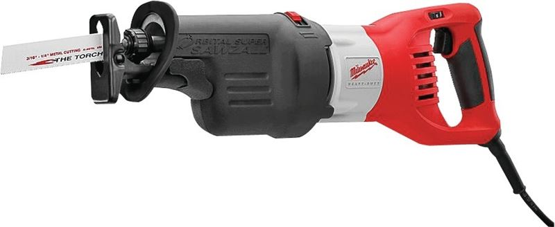 MILWAUKEE ELECTRIC TOOLS 6538-21 SUPER SAWZALL 15AMP
