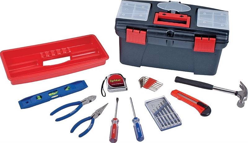 MINTCRAFT TOOL SET 23PC WITH TOOL BOX