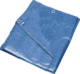 ProSource 9210568 Multi-Purpose Tarp with Aluminum Grommets, 16 ft L x 12 ft W, 8 x 10 in Mesh, Polyethylene