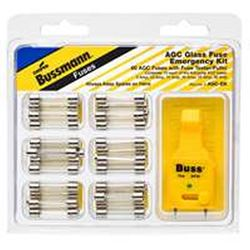 Bussmann AGC-EK Automotive Fuse Kit, 60 Pieces, 32 V