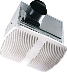 Air King AK80H Humidity Sensing Exhaust Fan With Humidity Sensor, 80 cfm, 28.1 W, White