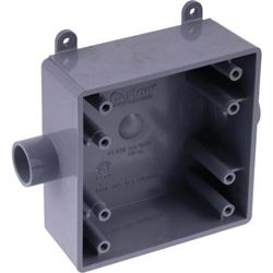 Thomas & Betts E9812Dr Box Pvc Fsc 2G 1/2""