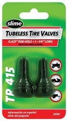 Slime 2079-A Tubeless Tire Valve, 1-1/4 in, Rubber