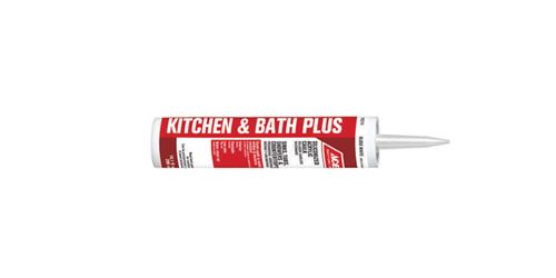 Ace  Siliconized Acrylic  Tub & Tile Caulk  White  10.1 oz.