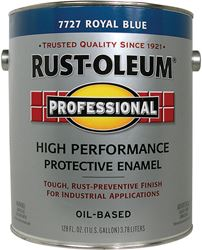 Rust-Oleum  Oil Based  High Performance Protective Enamel  Royal Blue  Gloss  1 gal.