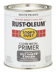 Rust-Oleum  Interior and Exterior  Clean Metal Primer  1 qt. White