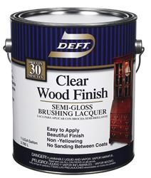 Deft  Brushing Lacquer  Semi-Gloss  1 gal.