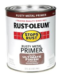 Rust-Oleum  Interior and Exterior  Rusty Metal Primer  1 qt.