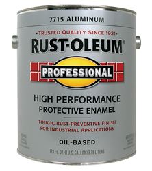 Rust-Oleum  Gloss  Oil-based Protective Enamel Paint  Metallic  1 gal.