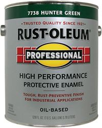 Rust-Oleum  Oil Based  High Performance Protective Enamel  Hunter Green  Gloss  1 gal.
