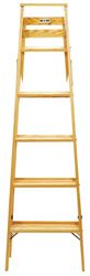 Babcock  5 ft. Wood  Step Ladder  200 lb. Type III
