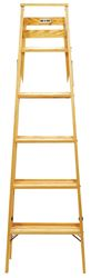 Babcock  6 ft. Wood  Step Ladder  200 lb. Type III