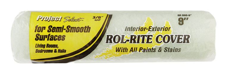 Project Select  Rol-Rite  Polyester  Paint Roller Cover  3/8 in. L x 9 in. W