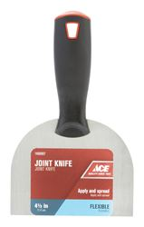 Ace  4-1/2 in. W Carbon Steel  Joint Knife  Flexible