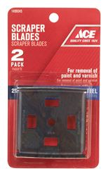 Ace  2-1/2 in. W Four Way  Tempered Steel  Scraper Blade