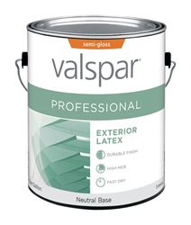 Valspar  Contractor Professional  Exterior  Acrylic Latex  Paint  Semi-Gloss  1 gal. Neutral Base