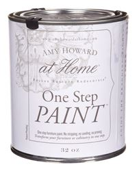 Amy Howard at Home  Interior  Latex  One Step Paint  Black  Flat Chalky Finish  32 oz.