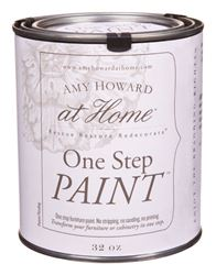 Amy Howard at Home  Interior  Latex  One Step Paint  Ballet White  Flat Chalky Finish  32 oz.