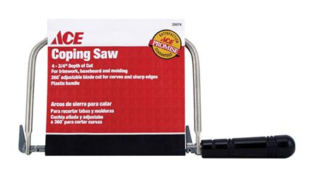 Ace  Coping Saw  4-3/4 in. L Plastic Handle