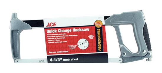 Ace  12 in. L Quick Change Hacksaw