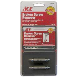 Ace  2 pc. Multi Size  Screw Extractor