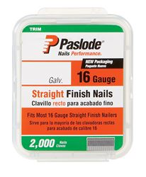 Paslode  1-1/2 in. L 16 Ga. Galvanized  Straight  Finish Nails  2,000 pk