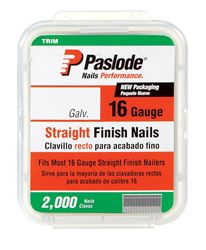 Paslode  2 in. L 16 Ga. Galvanized  Straight  Finish Nails  2,000 pk