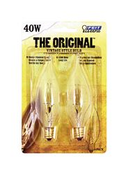 FEIT Electric  The Original  Incandescent Light Bulb  40 watts 65 lumens 2200 K Vintage Edison  CA