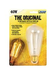 FEIT Electric  The Original  Incandescent Light Bulb  40 watts 220 lumens 2200 K Vintage Edison  ST1
