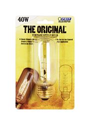 FEIT Electric  The Original  Incandescent Light Bulb  40 watts 50 lumens 2200 K Vintage Edison  T12
