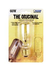 FEIT Electric  The Original  Incandescent Light Bulb  60 watts 150 lumens 2200 K Vintage Edison  T12